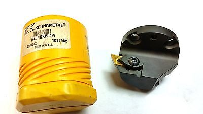 2.5 Kennametal H40ndxpl4w Profiling Boring Head For Use W Dp432 Inserts Q 91