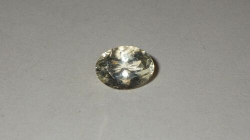 1.1 Ct All Natural Light Yellow Scapolite Oval Gemstone