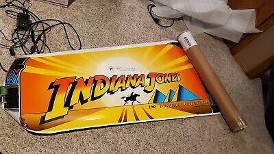 Indiana Jones pinball machine decal THE Best right side