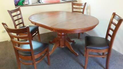 Moving Sell Every Things Like Wooden Table With Four Chairs 85