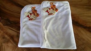 Disney Baby Winnie the Pooh square blankets x 2 Sunshine Coast Palmwoods Maroochydore Area Preview