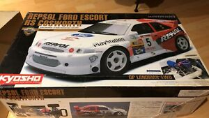 Vintage 1/8 Kyosho Landmax Ford Cosworth Rally..