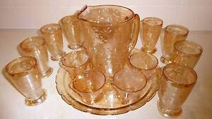 Florigold/Carnival Glass Table Set Morayfield Caboolture Area Preview