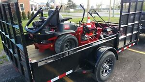 Toro z turn package with trailer