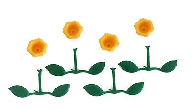 (Hummingbird Feeder Replacement Parts 4 Flower, 4 Leaf Perch Nectar Cafe)