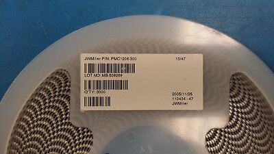 25 Pmc1206-300 Jw Miller Ferrite Multi-layer Chip Bead 30ohm 25 100mhz 500ma
