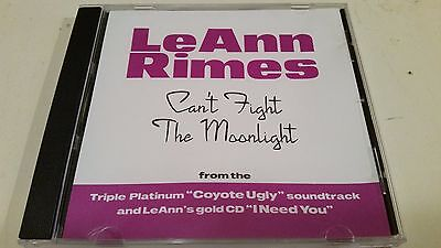 Leann Rimes Cant Fight The Moonlight Rare Oop Cd R Promo Remix Cd