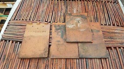 Rosemary dreadnought  mixed brindle 10 No Reclaimed Clay Plain Roof Tiles