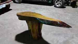 Hand made eucalypt slab wooden coffee table Newcastle Newcastle Area Preview
