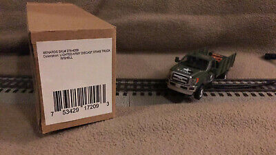 Menards O Gauge Lighted US Army Pickup Truck with Shells 279-4209 Discontinued