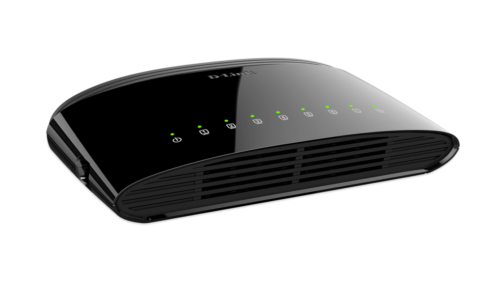 D-link Network 8-port Gigabit Unmanaged Switch (101001000) - Black
