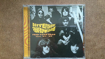 Jefferson Airplane  Feed Your Head Live 67  69 Cd