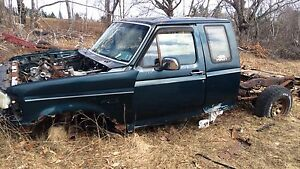 SCRAPPING OLD FORD TRUCK PARTS