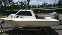 Mercury 60HP 4 Stroke Half Cab Fibreglass Boat - $5500 ONO Yeronga Brisbane South West Preview