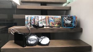 Wii consoles, 9 video games, sky landers and more