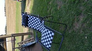NASCAR gravity chair