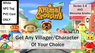 You Pick any villagers! Amiibo Compatible with Animal Crossing New Horizons