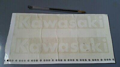 KAWASAKI Racing vintage sticker Autocollant Adesivo KR 250 H1R 500 H2R 750 KX SR