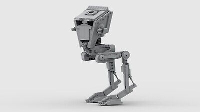Lego Star Wars AT-ST Instructions ONLY (Sólo instrucciones)