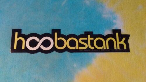 Hoobastank Logo 1.5 x 7 Inch Sticker