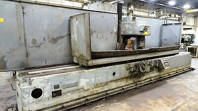 24 X 120 Thompson Model 10-pch-7882 Hydraulic Surface Grinder Stock 70687