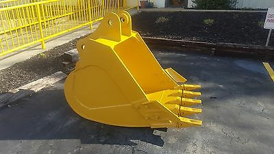 New 42 Heavy Duty Excavator Bucket For A Caterpillar 315 With Coupler Pins
