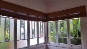 Large Matchstick Roman Blinds - 3 available Maroochy River Maroochydore Area Preview