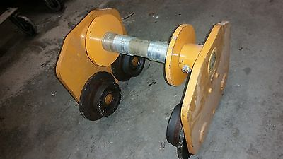 Harrington Pt050 Beam Push Trolley 5 Ton For Chain Hoist Winch Crane 12