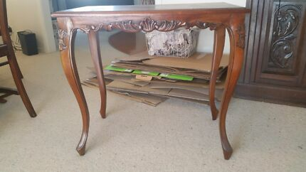 Antique style coffee table Kyabram Campaspe Area Preview