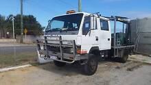 Mitsubishi Canter 4x4 Crane Truck with hydraulic post driver Bibra Lake Cockburn Area Preview