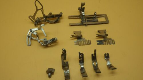 Antique Wheeler & Wilson  D9 Singer W9 Sewing Machine Attachments & Feet