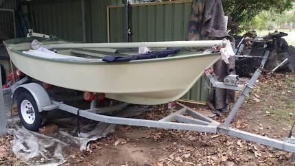 12 Foot Sail Boat and Trailer
