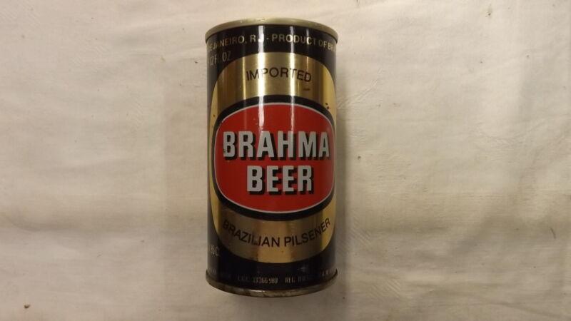 Vintage Brahma Brazilian Pilsner 1980 Beer Can Steel d