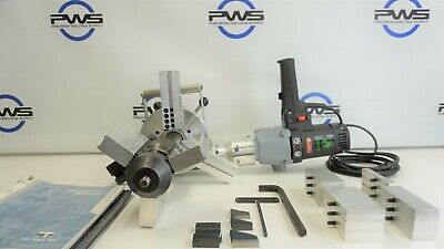 Tri Tool 214b Bevelmaster Portable Steel Pipe Beveling Machine Facing W Case