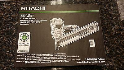 "*NEW*  Hitachi NR90AE (S1) 3-1/2"" 90mm Strip Nailer"