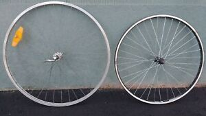 Alloy Front Wheels, One 27.1/4, One 26 inch
