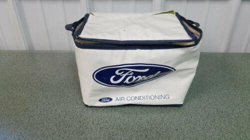 "Vintage Ford Motor Company ""AIR CONDITIONING "" Advertising Cooler"