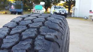 2 x Gooodyear Wrangler AT Tyres 225/75r16 + 1 Steel toyota rim Armidale Armidale City Preview