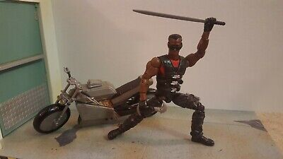 Marvel Legends custom Blade Wesley Snipes motorcycle figure sword ToyBiz