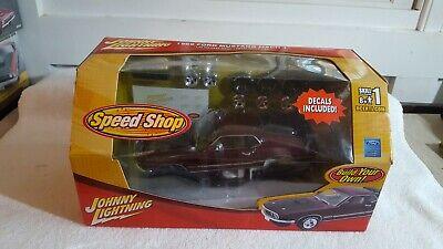 Johnny Lightning Speed Shop 1969 Mustang Mach 1 Diecast Kit 1:24 Sealed 2006