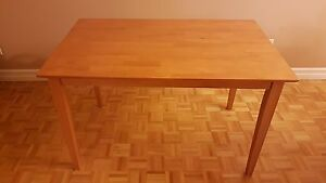 Dinette Table Red Maple