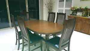 Dinning table with chairs Burwood Heights Burwood Area Preview