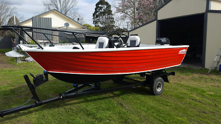 Stacer 444 Kingray With 40hp Oil Injected Mercury