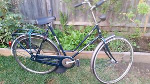 Original dutch vintage ladies step thru bike