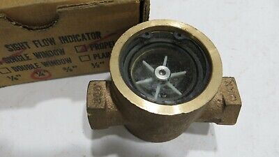 W.E. ANDERSON 100 MIDWEST SIGHT FLOW INDICATOR 1/4