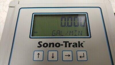 Sono-trak St30 Ultrasonic Flow Meter W Upstream Downstream Sensors