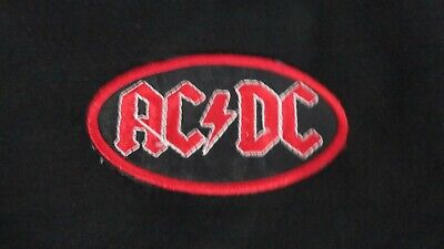 AC DC EMBROIDERED LOGO PATCH for sale  Shipping to India
