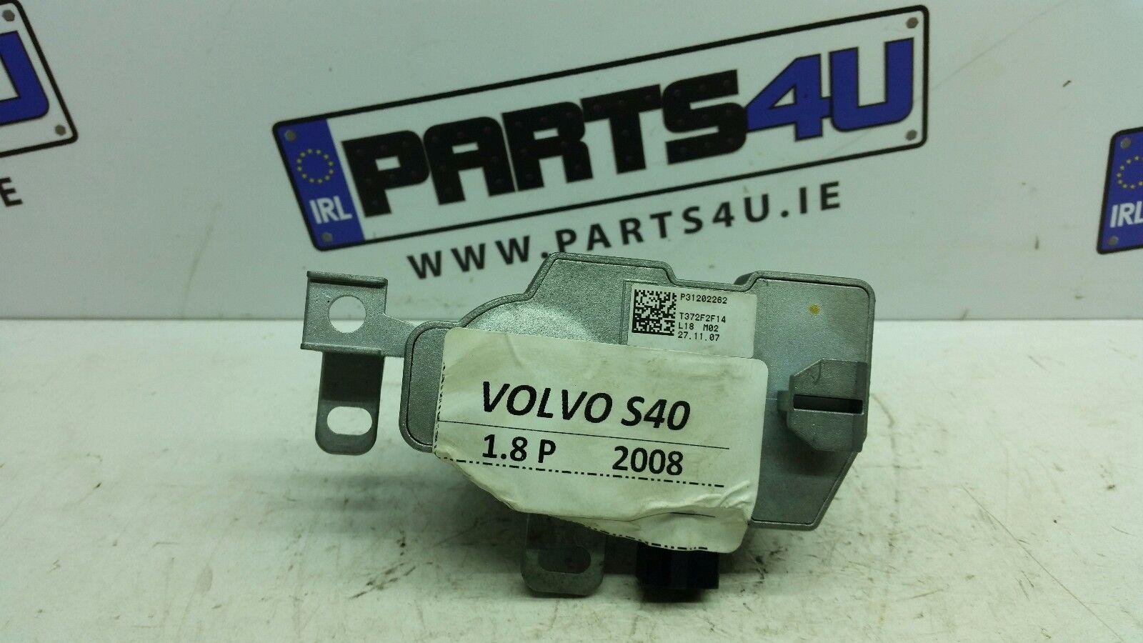 2008 VOLVO S40 1.8 PETROL POWER STEERING COLUMN LOCK  P31202262 T372F2F14