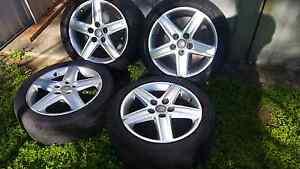 Audi, VW, Mercedes 5x112 17 inch factory wheels Brisbane Region Preview