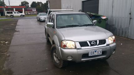 Nissan navara 2004 d22 dual cab  Campbellfield Hume Area Preview